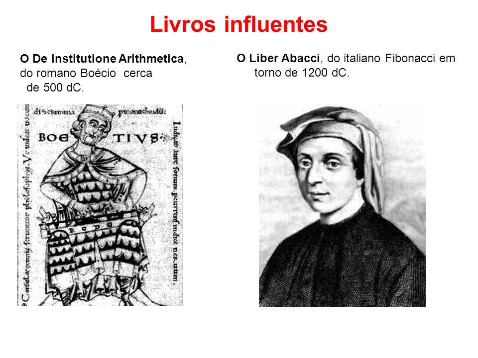 Livros influentes O De Institutione Arithmetica,
