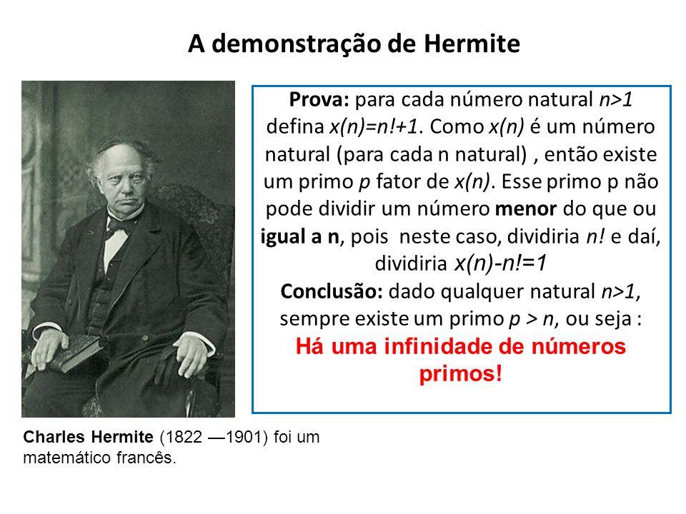 A demonstração de Hermite
