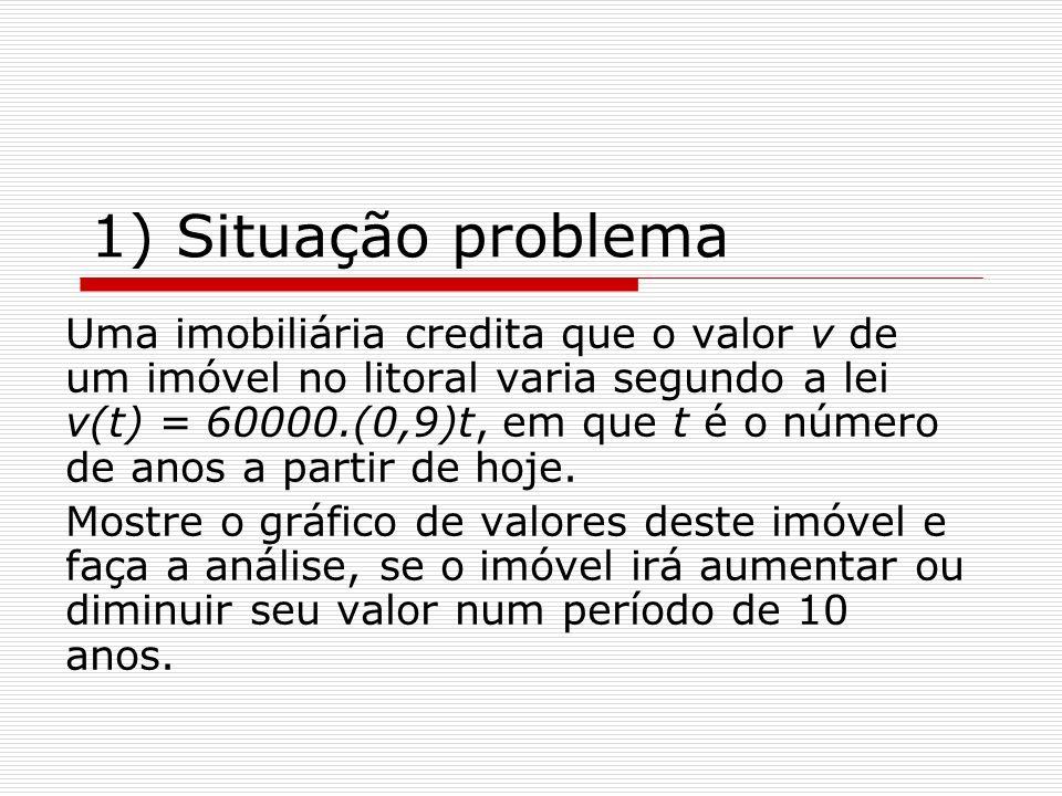 1) Situação problema