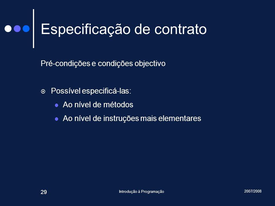 Especificação de contrato
