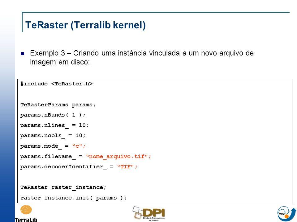 TeRaster (Terralib kernel)