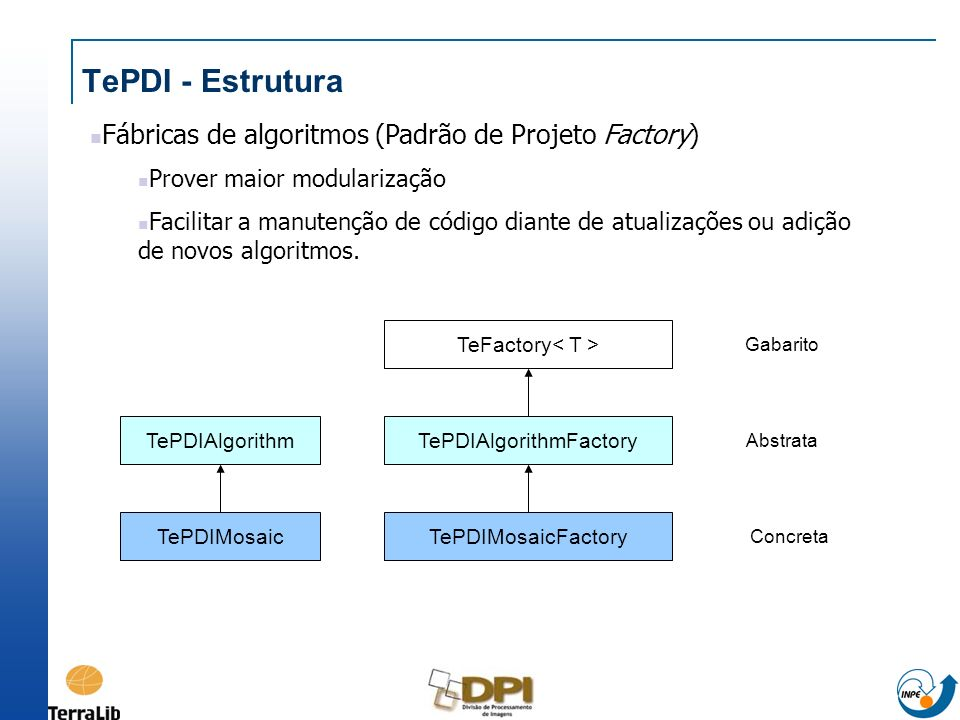 TePDIAlgorithmFactory