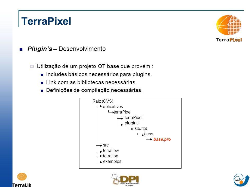 TerraPixel Plugin's – Desenvolvimento