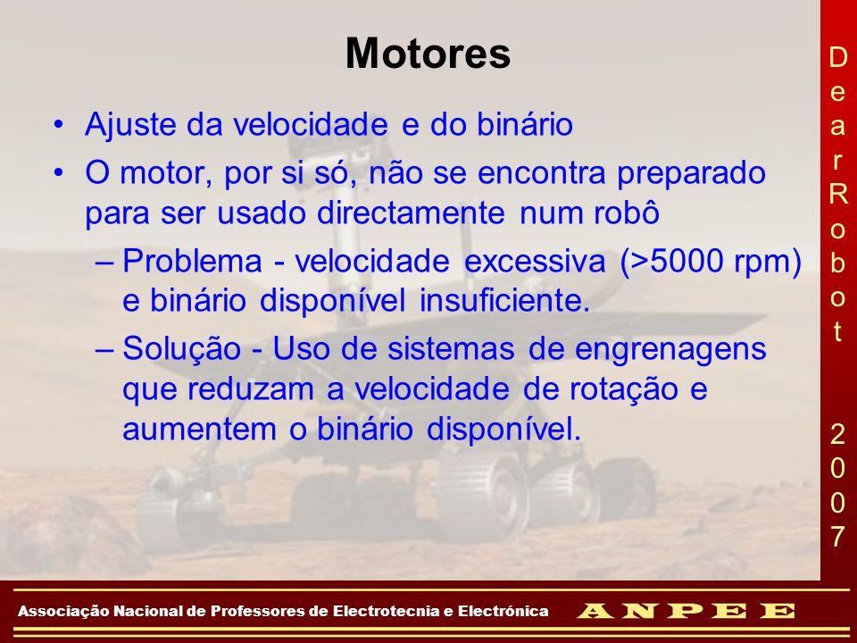 Motores Ajuste da velocidade e do binário
