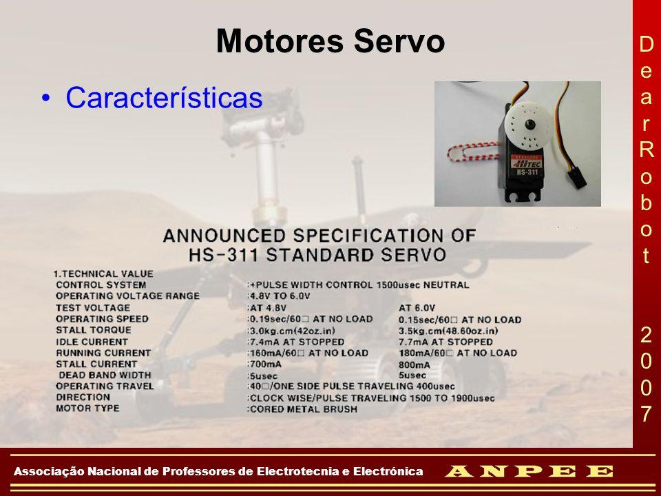 Motores Servo Características