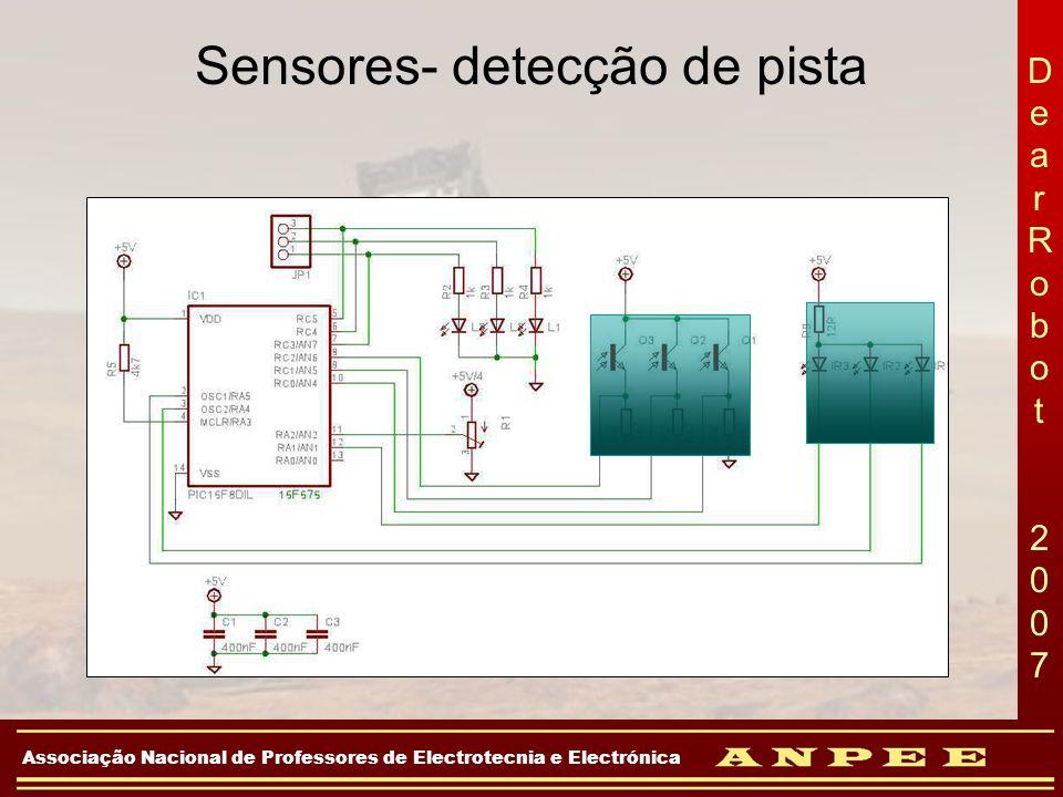 Sensores- detecção de pista