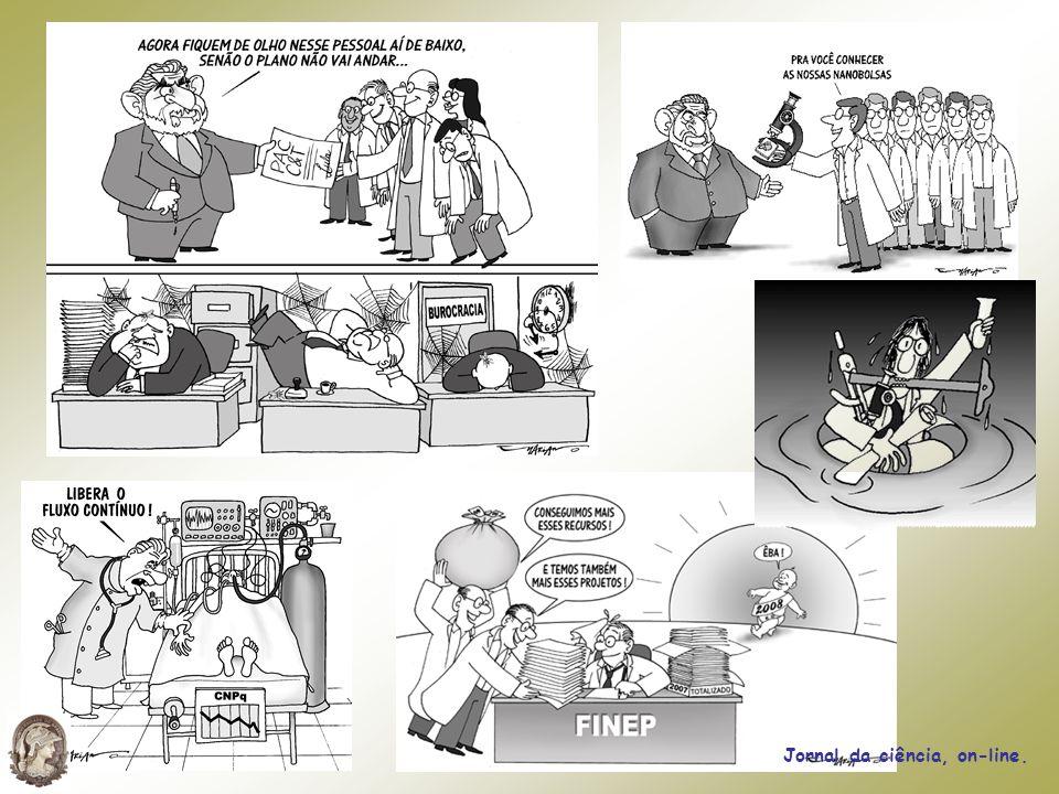 Jornal da ciência, on-line.