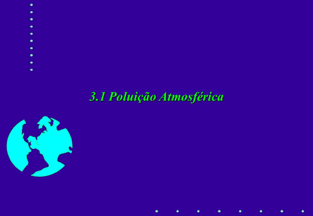 3.1 Poluição Atmosférica