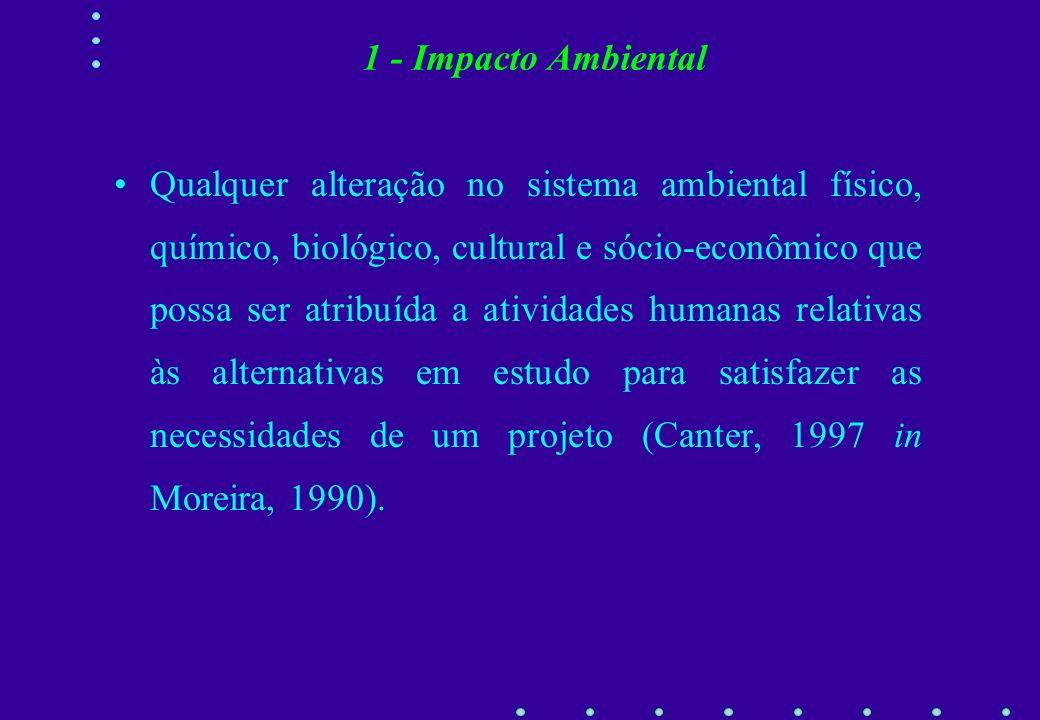 1 - Impacto Ambiental