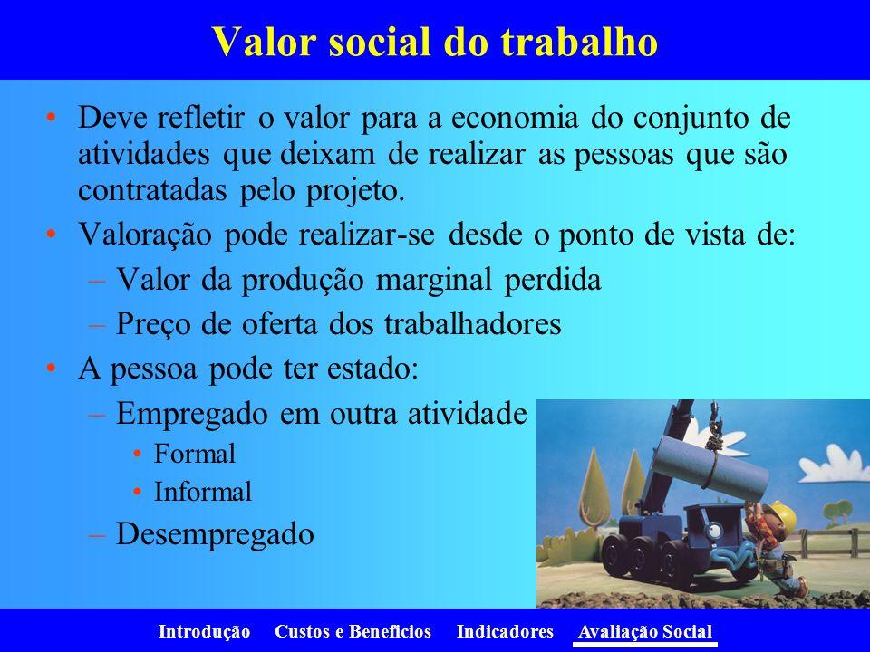 Valor social do trabalho