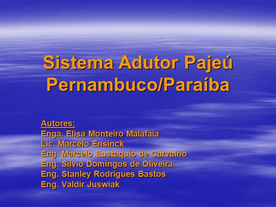 Sistema Adutor Pajeú Pernambuco/Paraíba