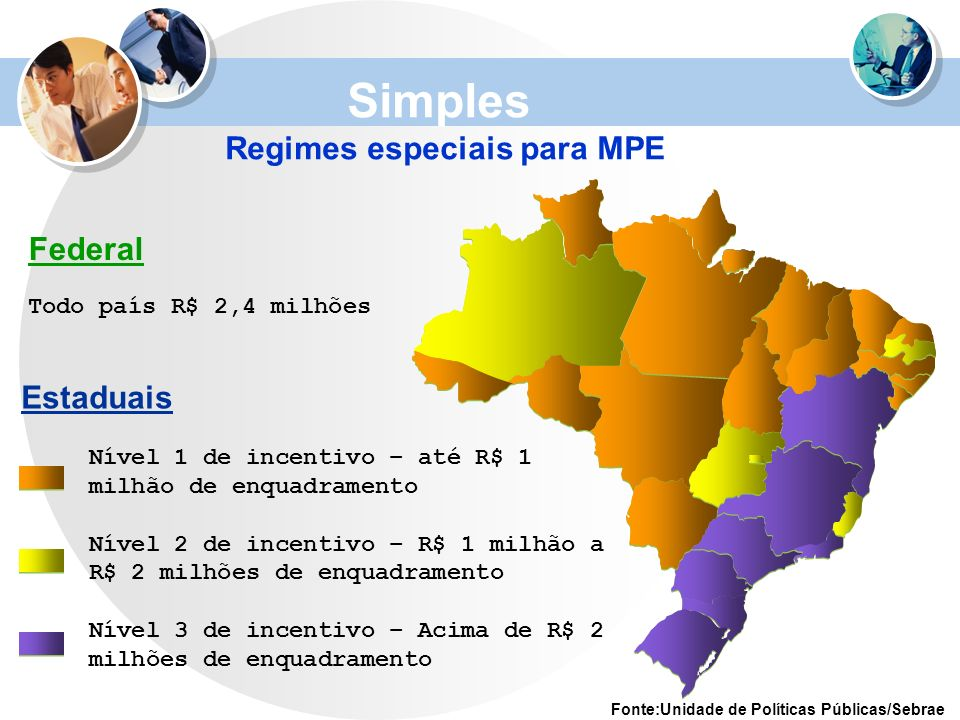 Regimes especiais para MPE