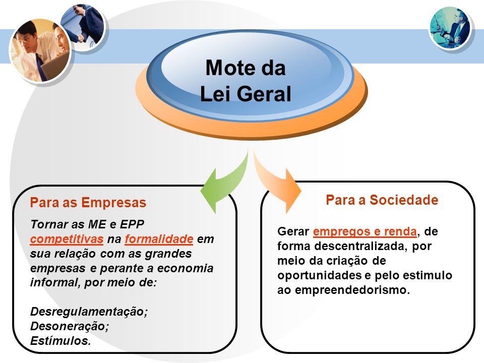 Mote da Lei Geral Para a Sociedade Para as Empresas