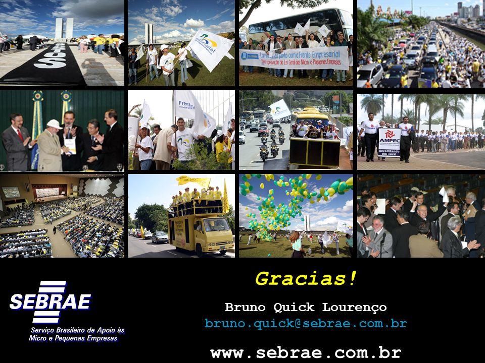 Gracias! www.sebrae.com.br Bruno Quick Lourenço