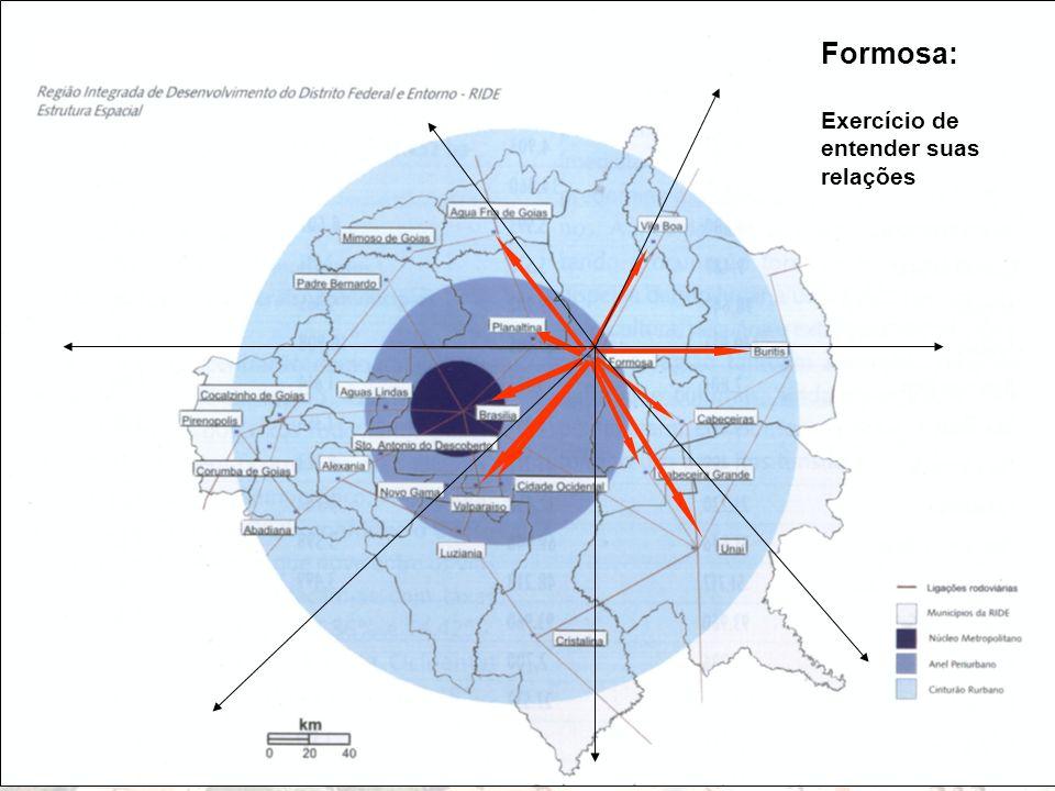 Formosa: Exercício de entender suas relações