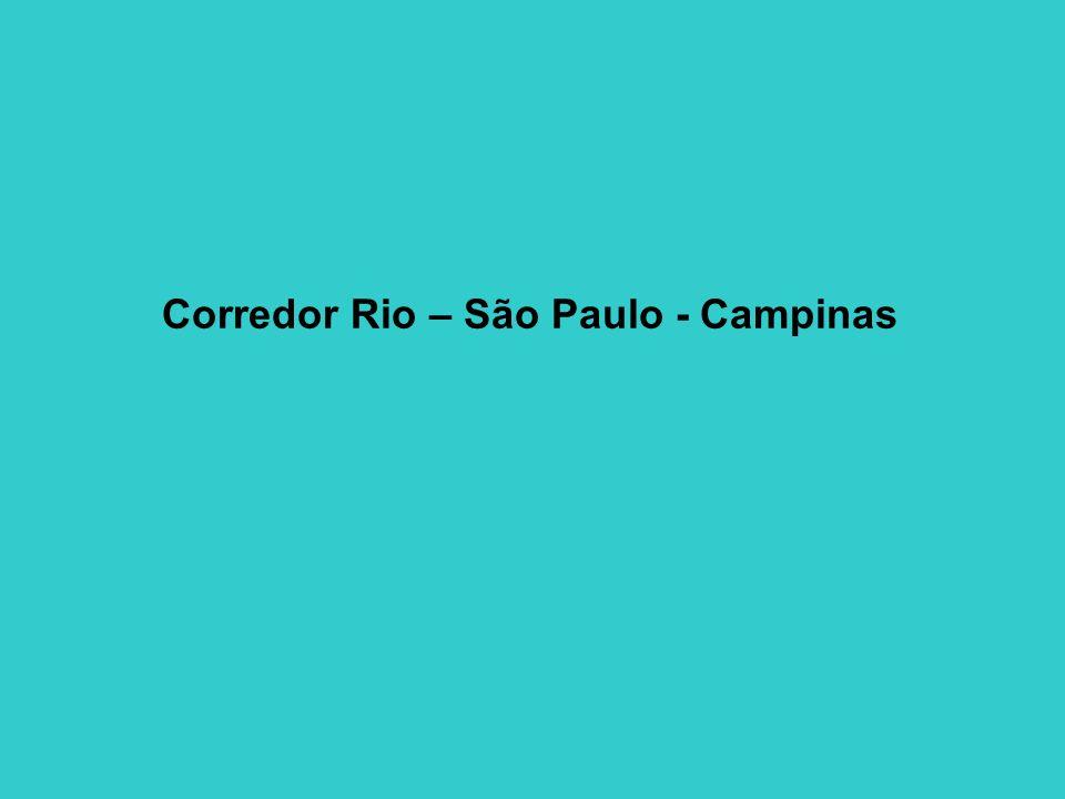 Corredor Rio – São Paulo - Campinas