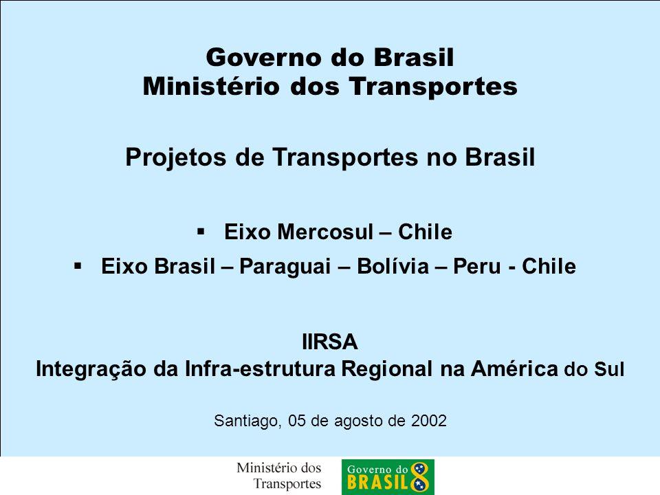 Projetos de Transportes no Brasil
