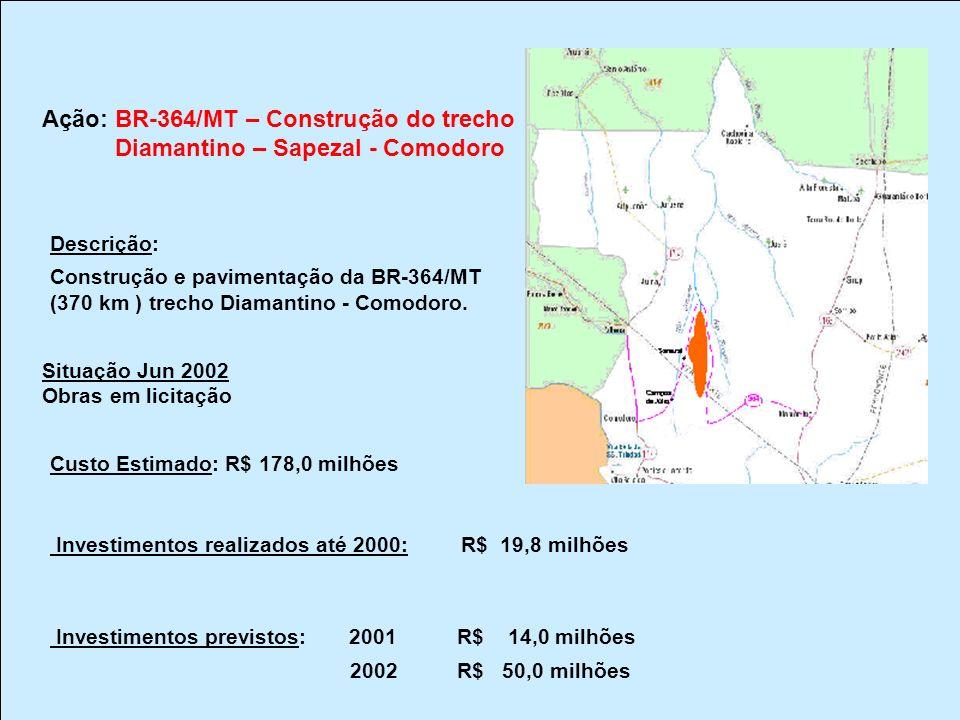 Diamantino – Sapezal - Comodoro