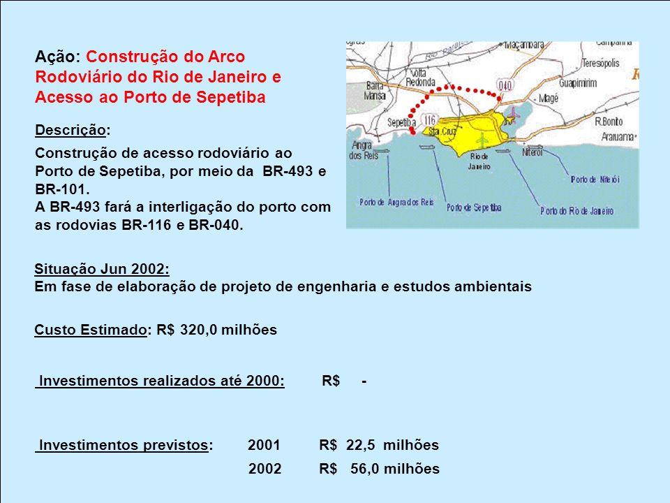Rodoviário do Rio de Janeiro e Acesso ao Porto de Sepetiba