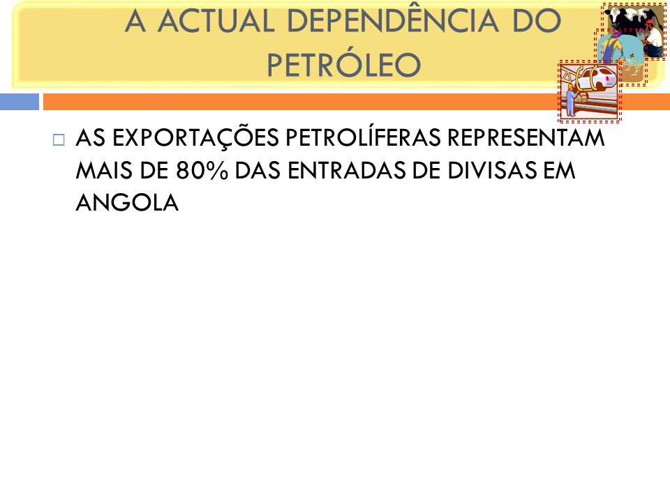 A ACTUAL DEPENDÊNCIA DO PETRÓLEO
