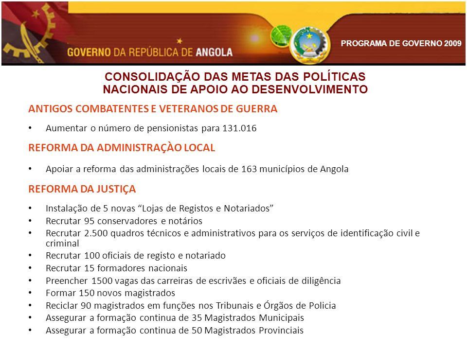 ANTIGOS COMBATENTES E VETERANOS DE GUERRA