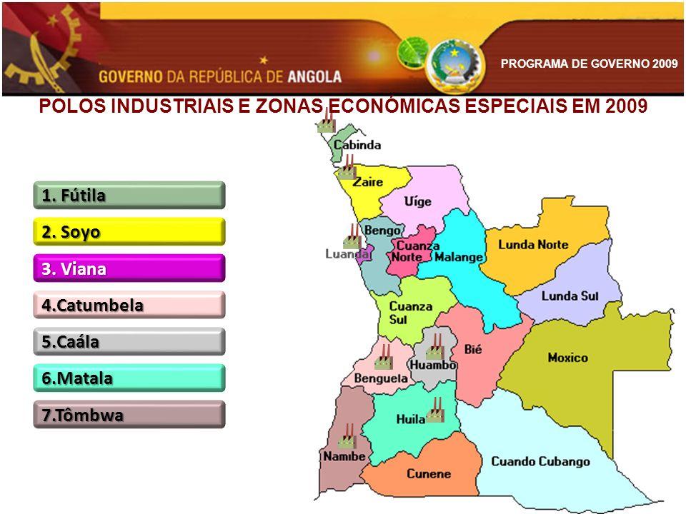 POLOS INDUSTRIAIS E ZONAS ECONÓMICAS ESPECIAIS EM 2009