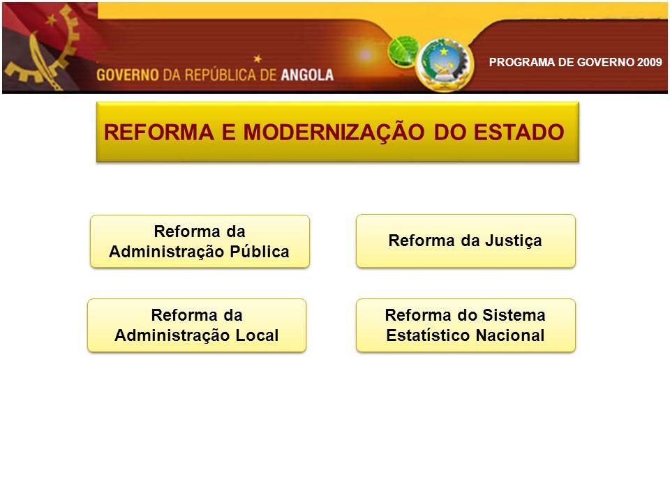 Reforma da Administração Pública Reforma da Administração Local