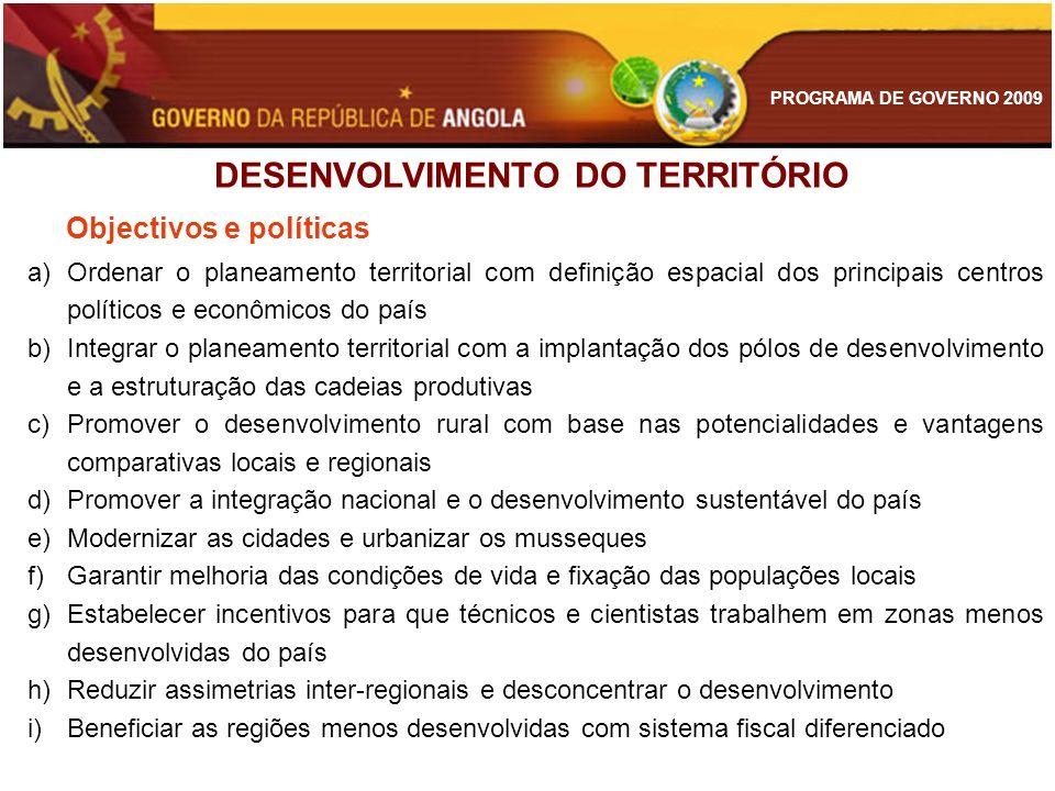 DESENVOLVIMENTO DO TERRITÓRIO