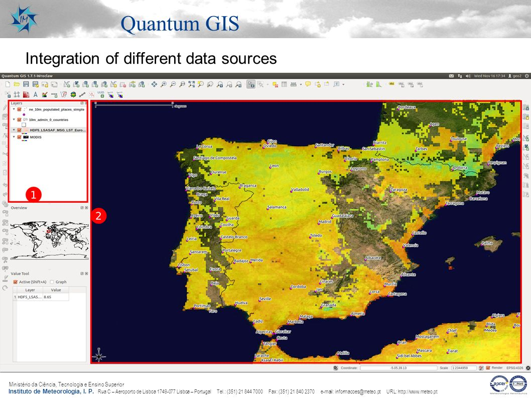 Quantum GIS Integration of different data sources