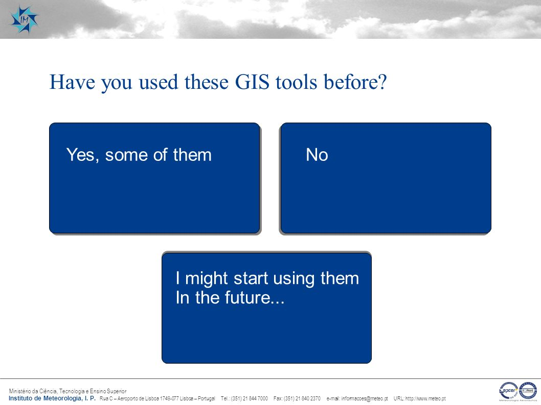 Have you used these GIS tools before