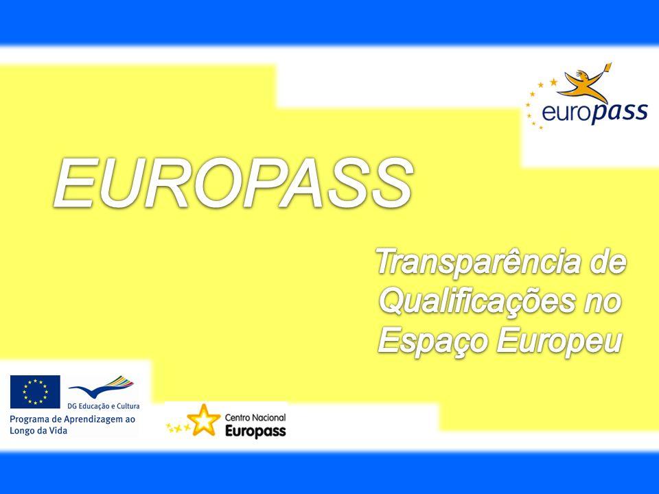 Transparência de Qualificações no Espaço Europeu