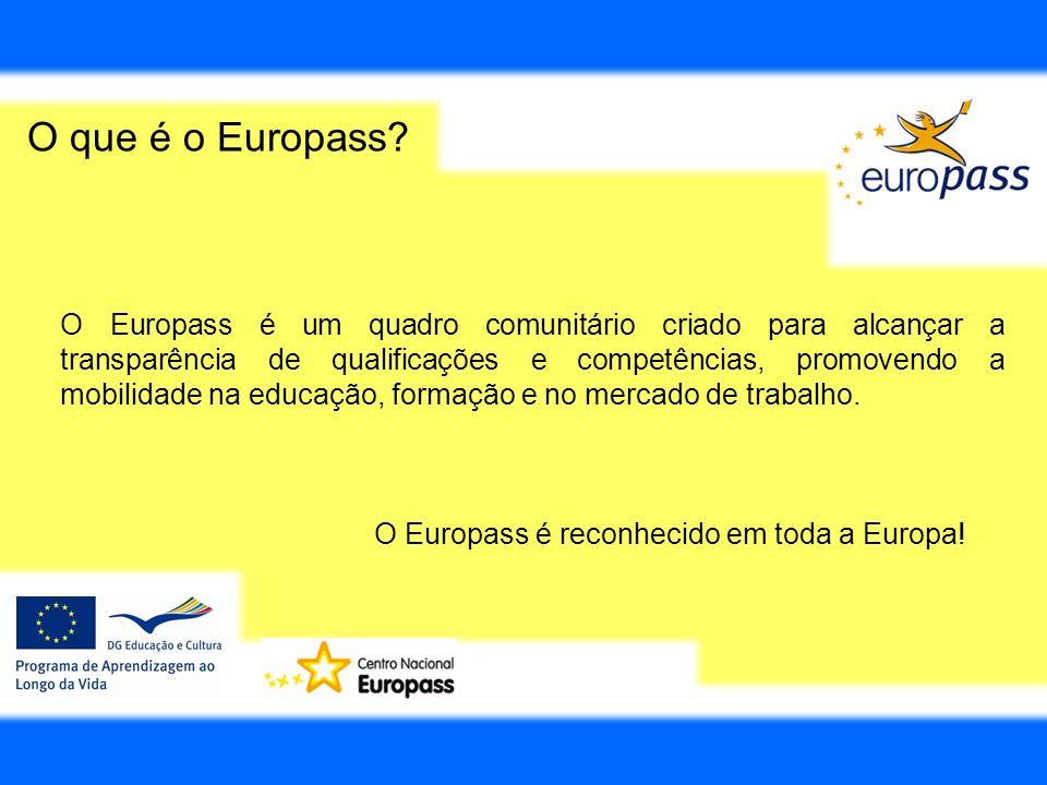 O que é o Europass