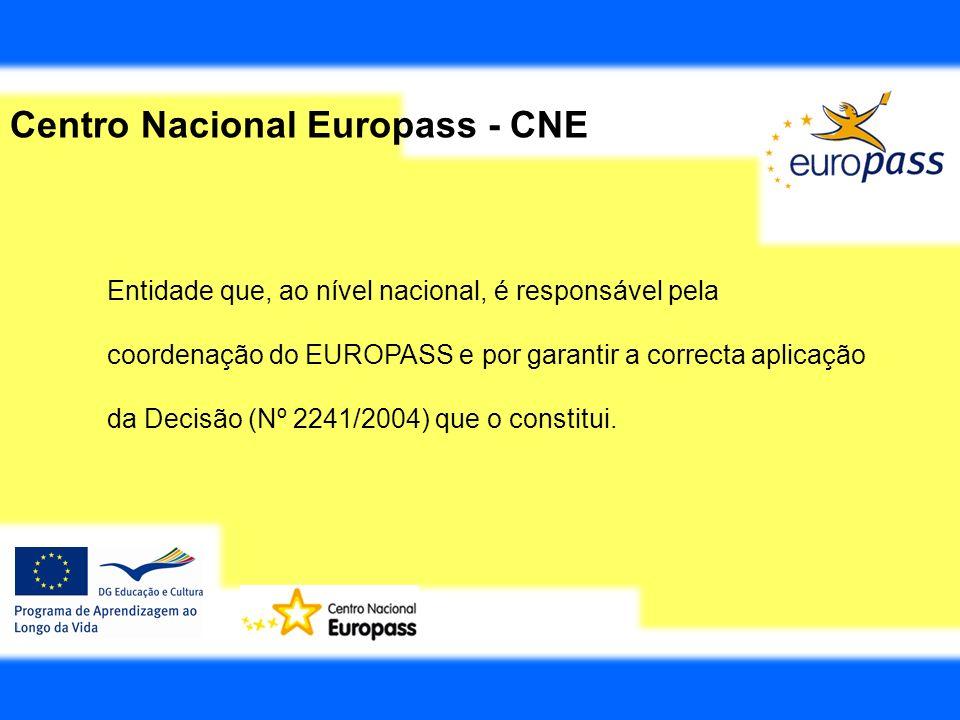 Centro Nacional Europass - CNE