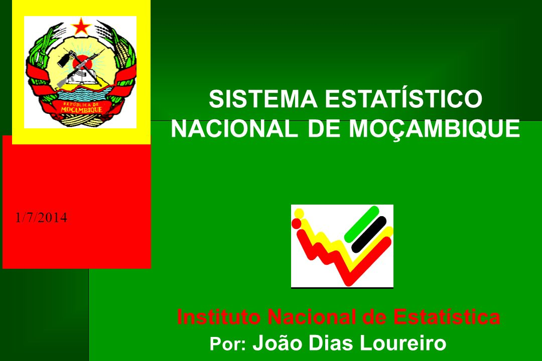 SISTEMA ESTATÍSTICO NACIONAL DE MOÇAMBIQUE