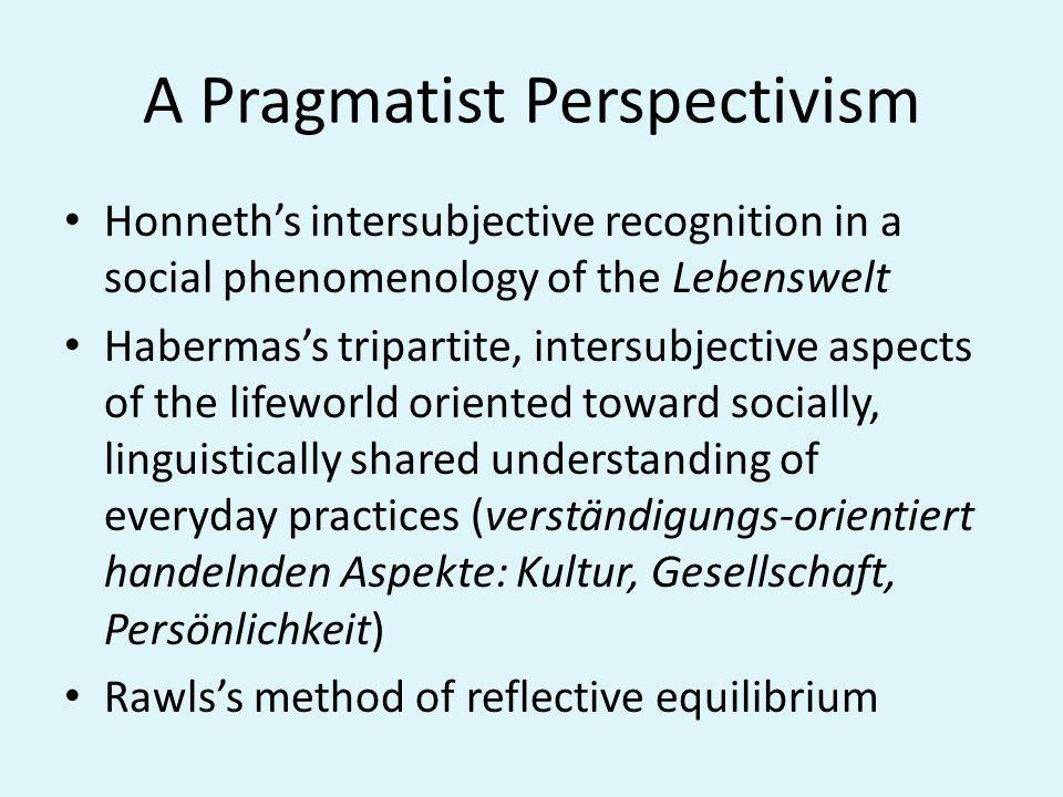 A Pragmatist Perspectivism