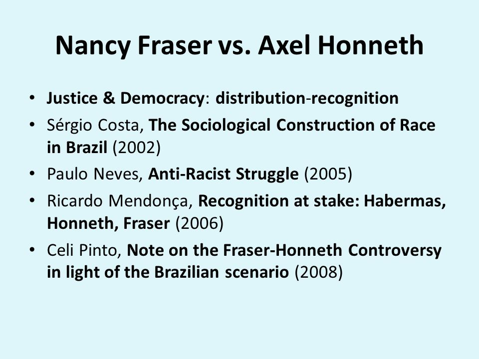 affirmative action recognition self respect axel honneth Livability: a politics for abnormative lives  as a basis for political action: charles taylor and axel honneth  self-respect trump.