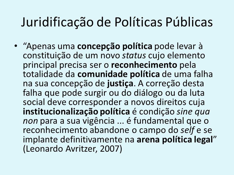 Juridificação de Políticas Públicas