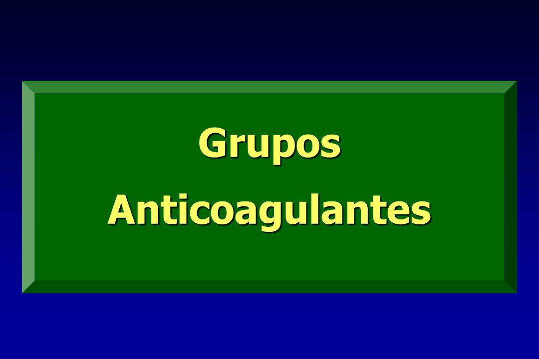 Grupos Anticoagulantes
