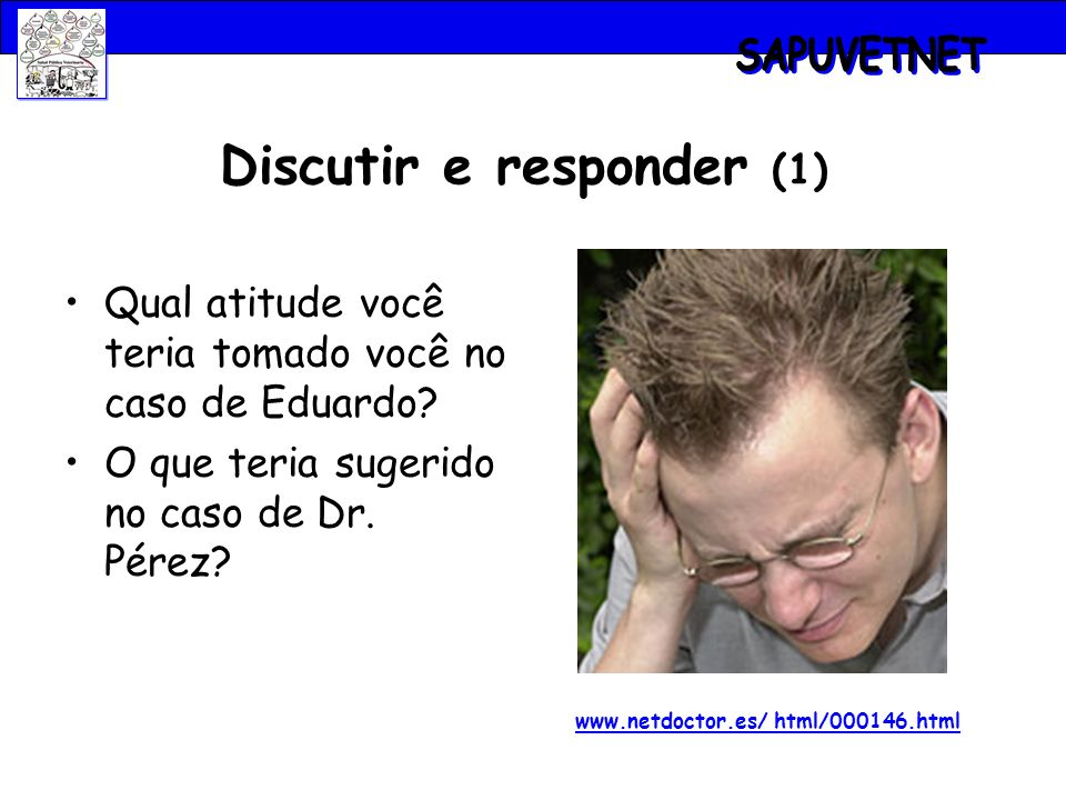 Discutir e responder (1) www.netdoctor.es/ html/000146.html