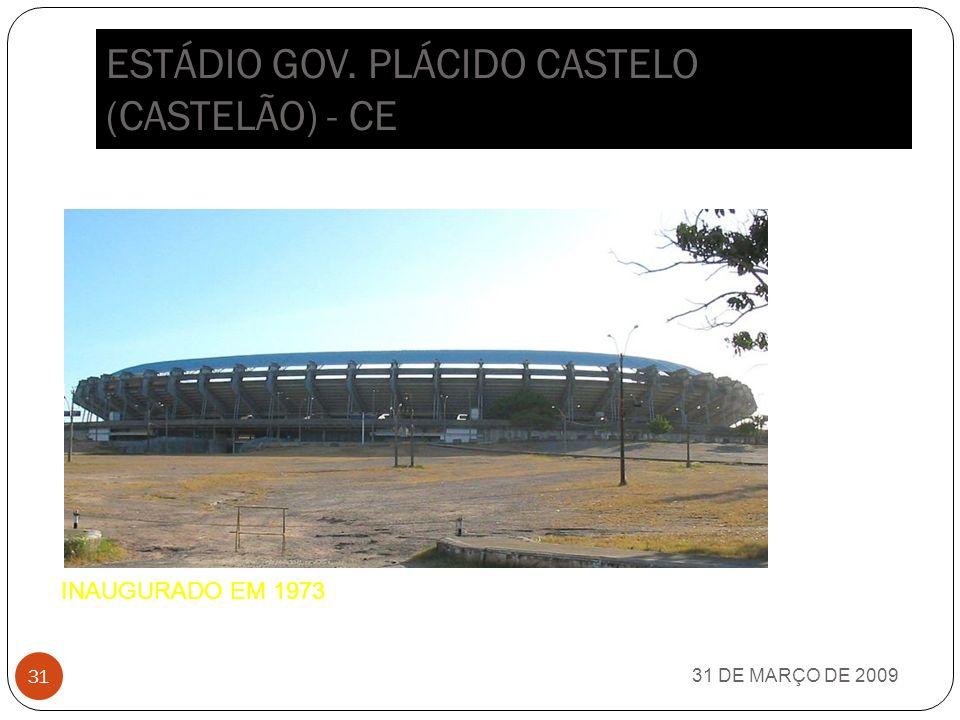 ESTÁDIO GOV. PLÁCIDO CASTELO (CASTELÃO) - CE