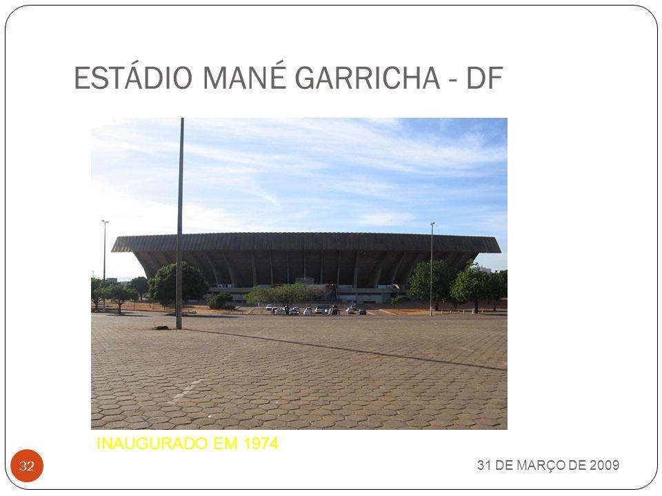 ESTÁDIO MANÉ GARRICHA - DF