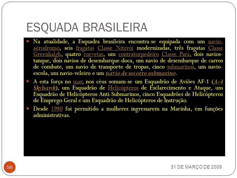 ESQUADA BRASILEIRA