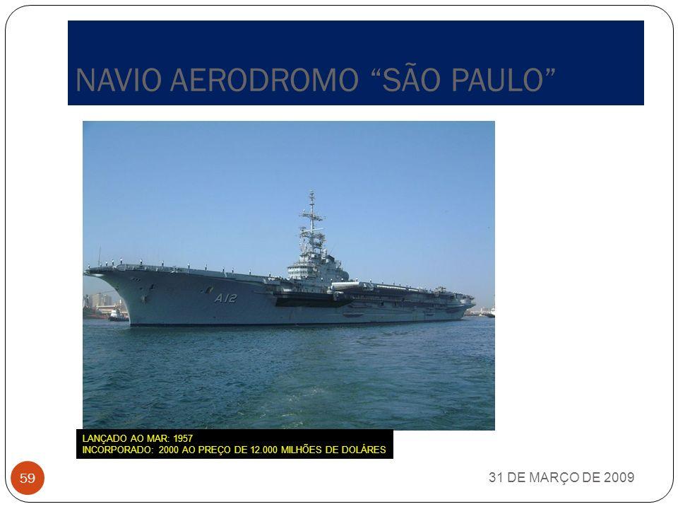 NAVIO AERODROMO SÃO PAULO
