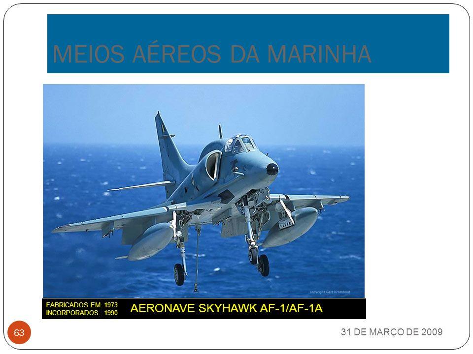 MEIOS AÉREOS DA MARINHA