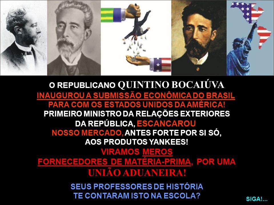 UNIÃO ADUANEIRA! VIRAMOS MEROS FORNECEDORES DE MATÉRIA-PRIMA, POR UMA