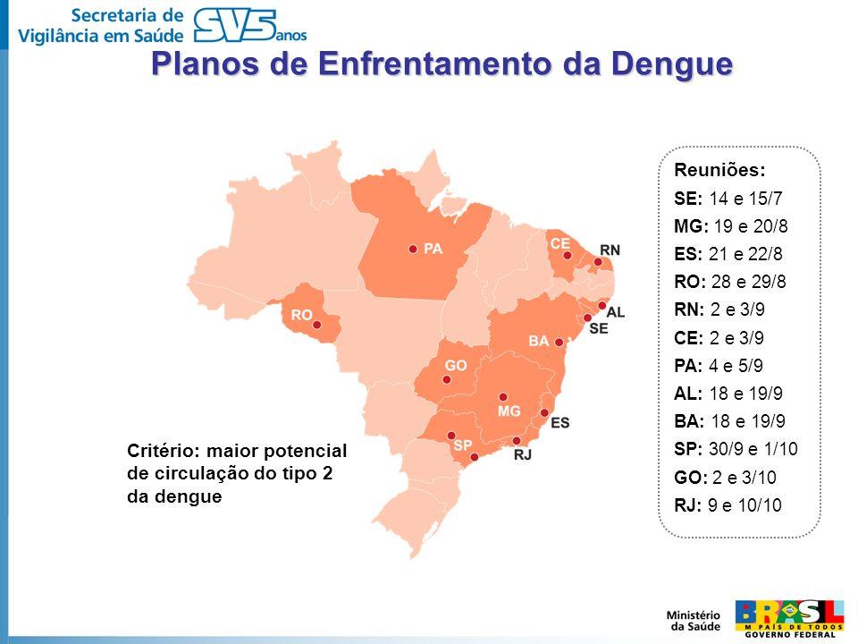 Planos de Enfrentamento da Dengue