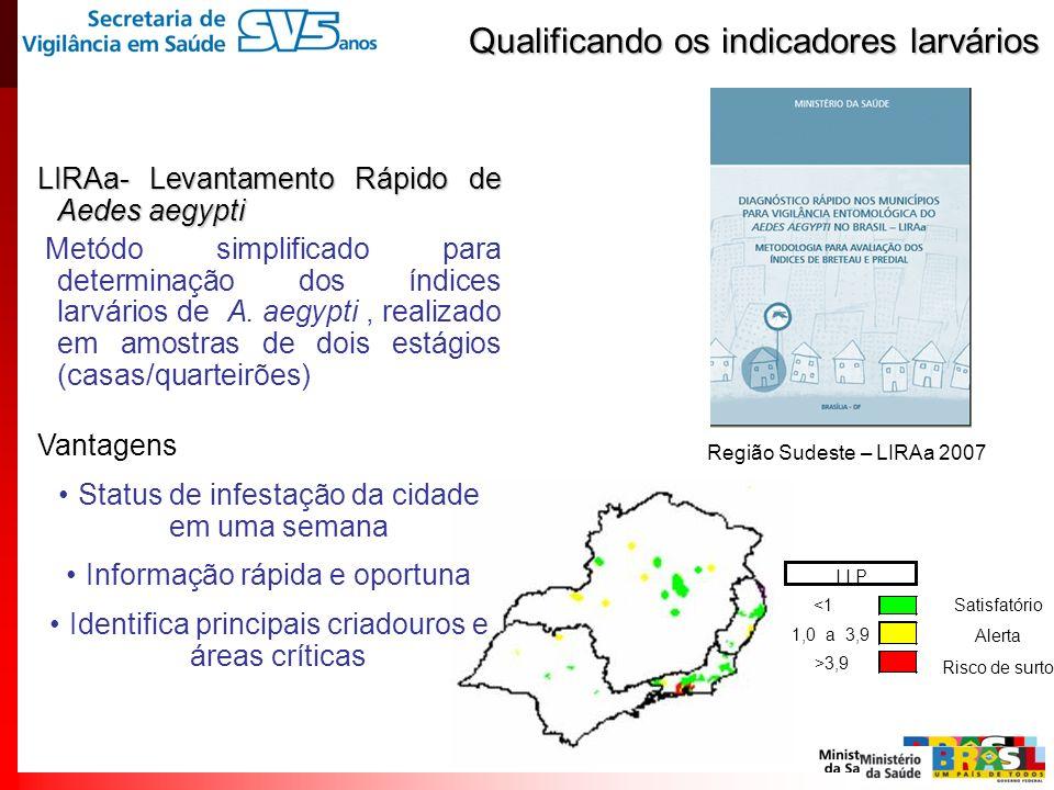 Qualificando os indicadores larvários