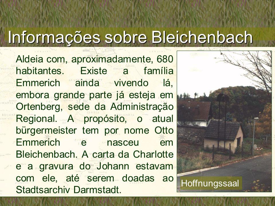 Informações sobre Bleichenbach