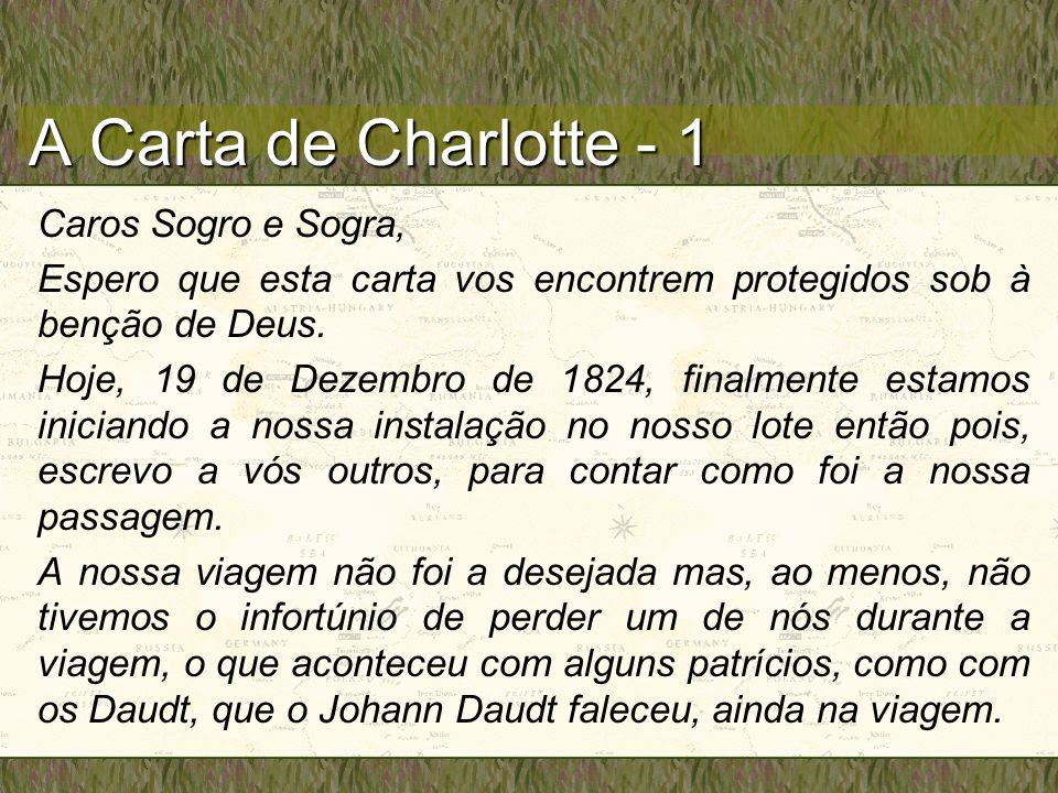 A Carta de Charlotte - 1 Caros Sogro e Sogra,