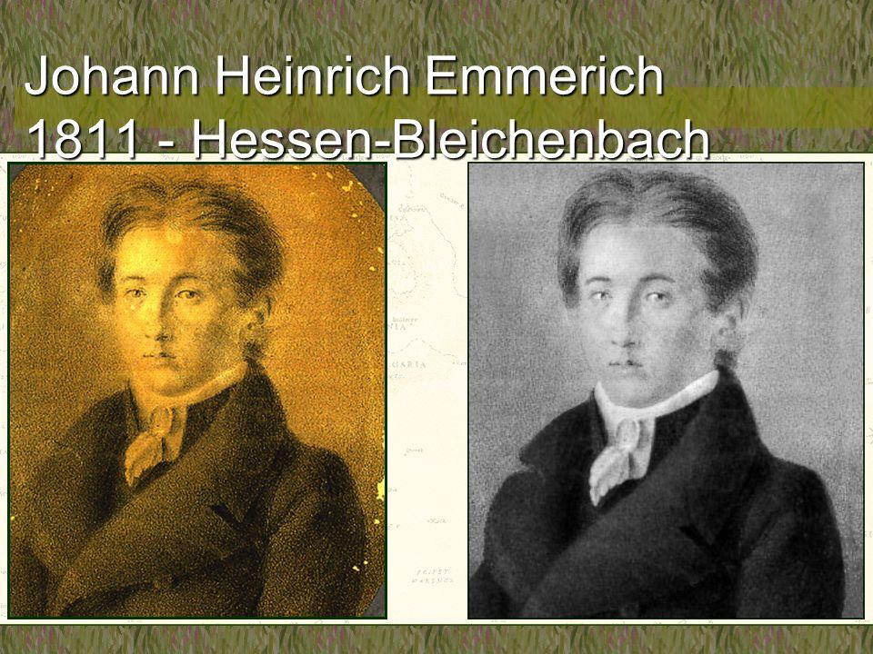 Johann Heinrich Emmerich 1811 - Hessen-Bleichenbach